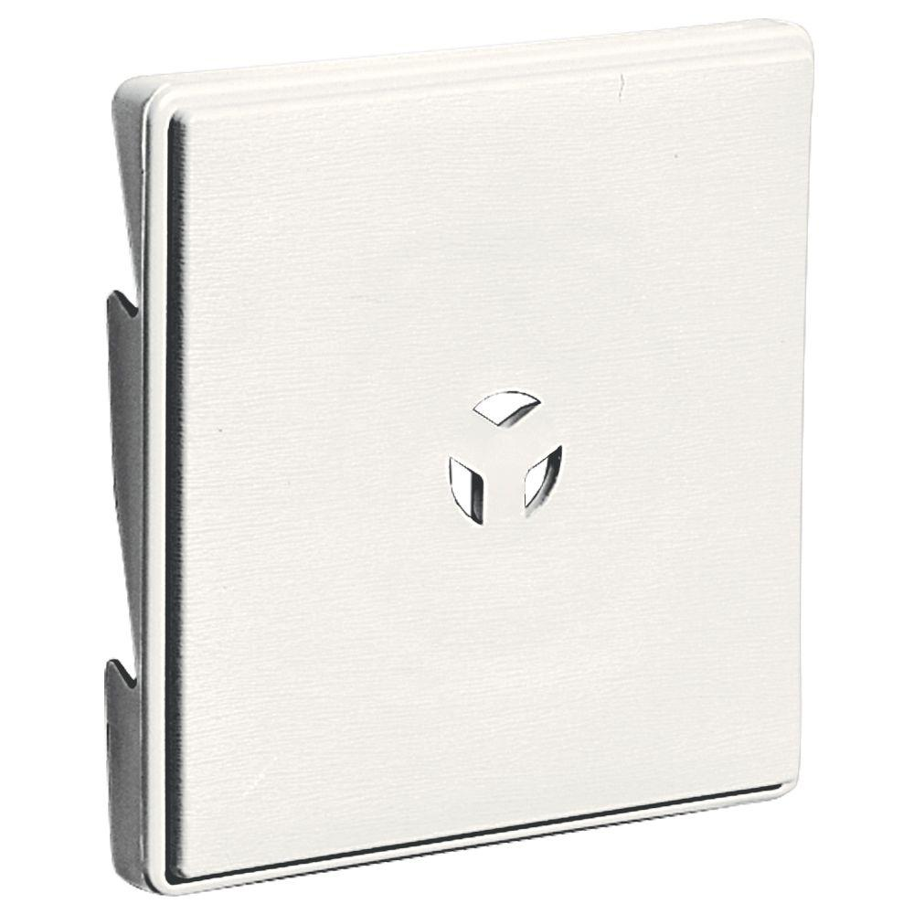 Builders Edge 3 in. Surface Block #123 White