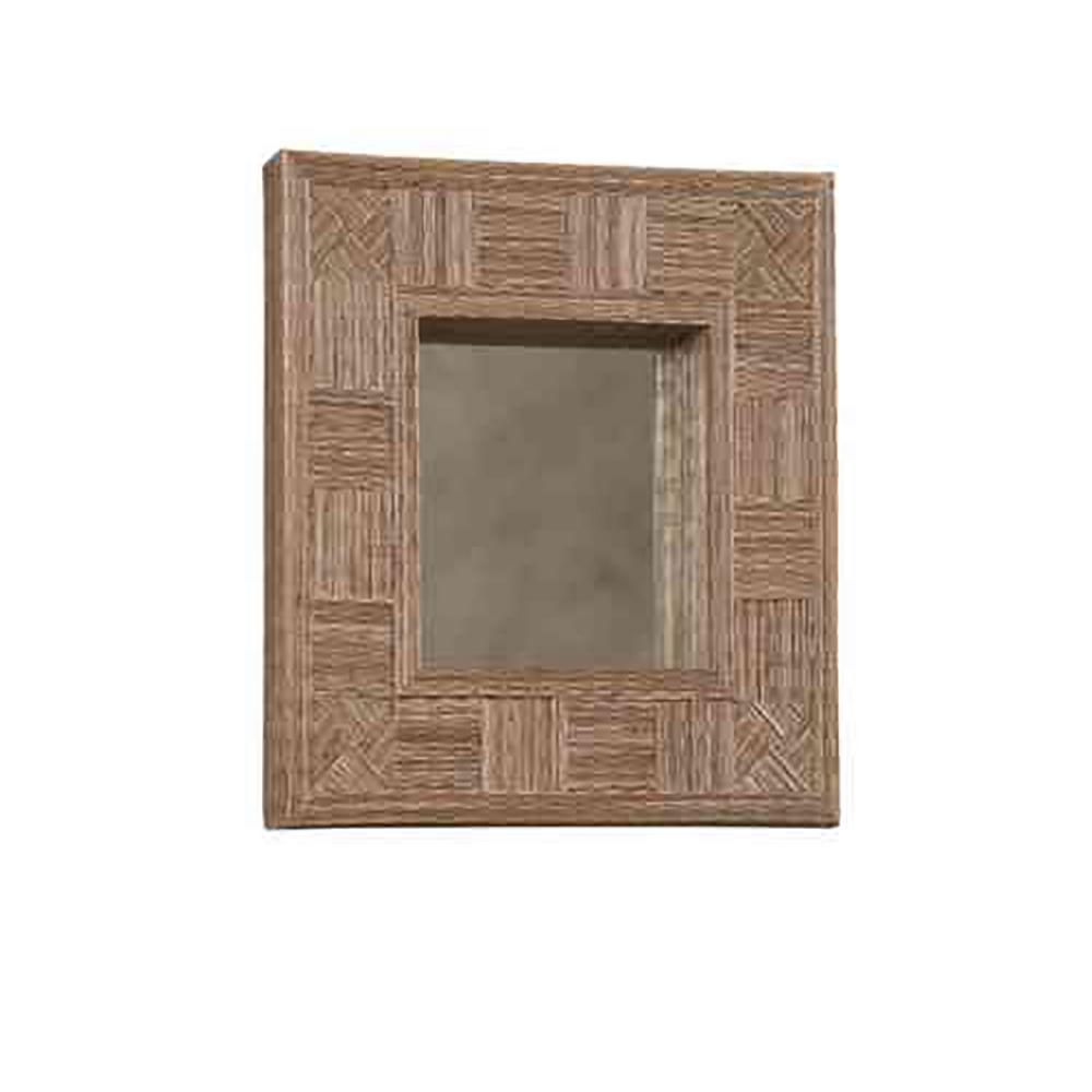 Linon Mosaic Cocostick Rectangle Mirror