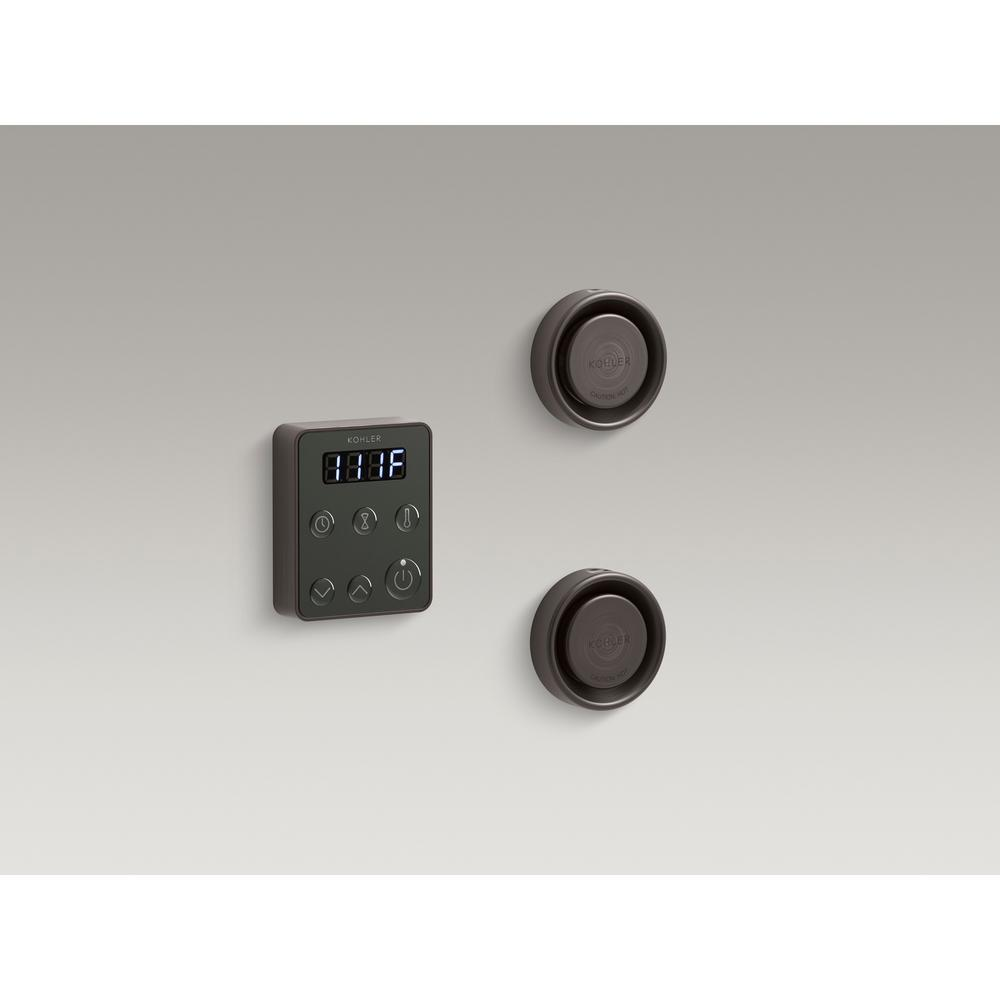 Kohler Invigoration Steam Bath Generator Control Kit In Oil Rubbed Bronze