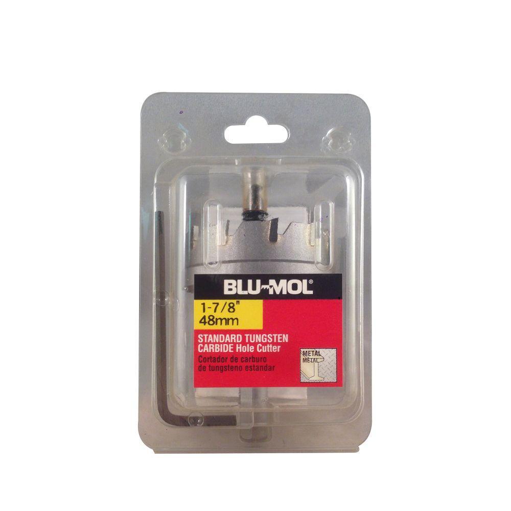 BLU-MOL 1-7/8 inch Standard Tungsten Carbide Hole Cutter by BLU-MOL