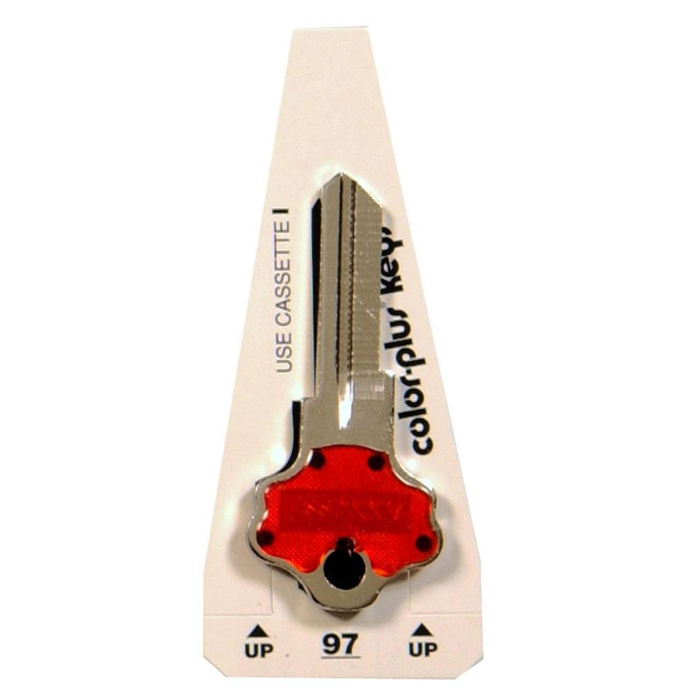 #97 Colorplus Blank Titan Key