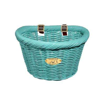 Cruiser Adult D-Shape Basket in Turquoise