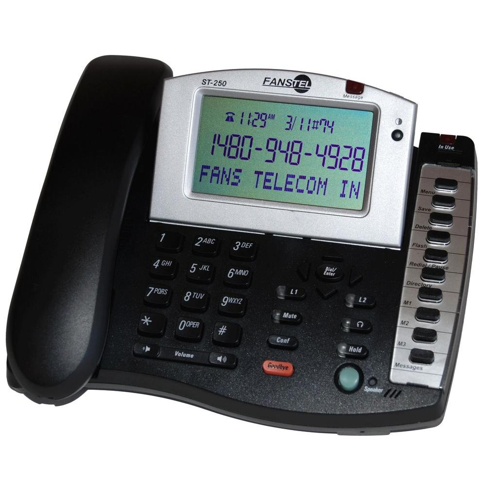 2-Line Amplified Business Speakerphone