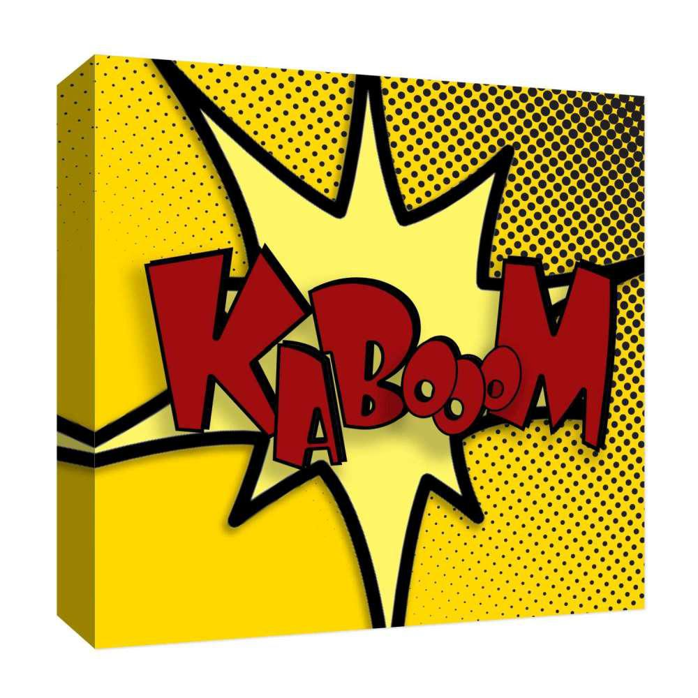 PTM Images 15 in. x 15 in. \'\'Kabooom! II\'\' By PTM Images Printed ...