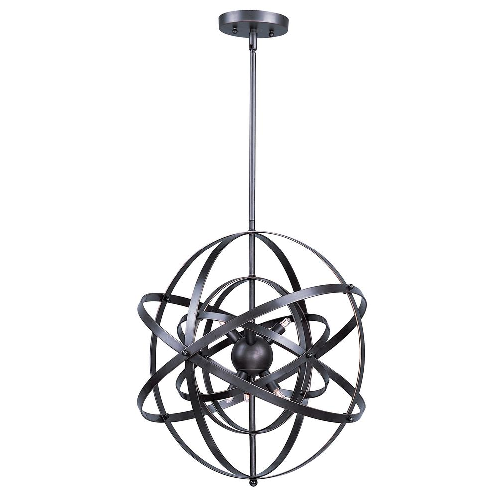 Maxim Lighting Sputnik 9-Light Bronze Rupert Pendant Maxim Lighting's commitment to both the residential lighting and the home building industries will assure you a product line focused on your lighting needs. With Maxim Lighting accessories you will find quality product that is well designed, well priced and readily available. Maxim has fixtures in a variety of styles and a strong presence in the energy-efficient lighting industry, Maxim Lighting is the clear choice for quality lighting.