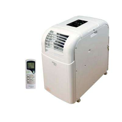 10000 BTU 206 CFM 3-Speed Portable Evaporative Air Conditioner for 350 sq. ft. with Dehumidifier LCD Remote Control