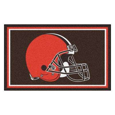 Cleveland Browns 4 ft. x 6 ft. Area Rug