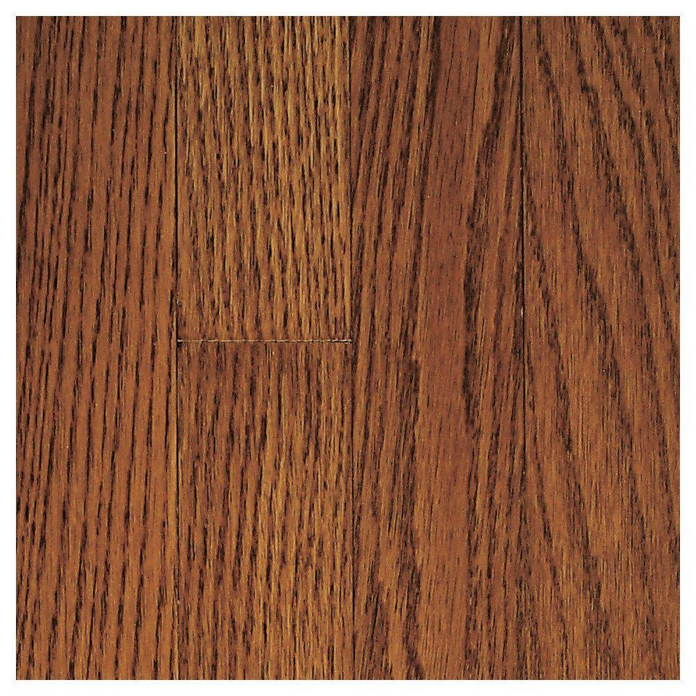 Wilston Coffee Oak Hardwood Flooring - 5 in. x 7 in. Take Home Sample