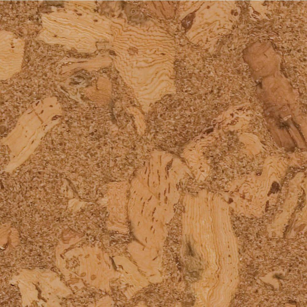 Home Legend Azores Natural Cork Flooring - 5 in. x 7 in. Take Home Sample