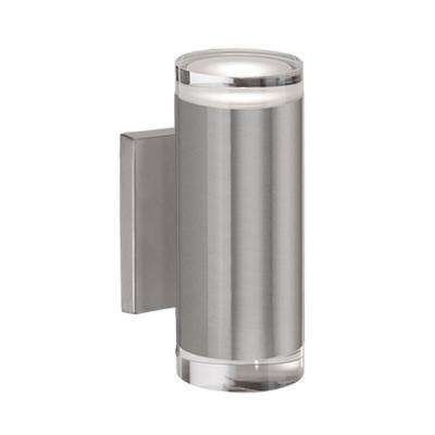 Westchester 60-Watt Equivalence Brushed Nickel Integrated LED Sconce