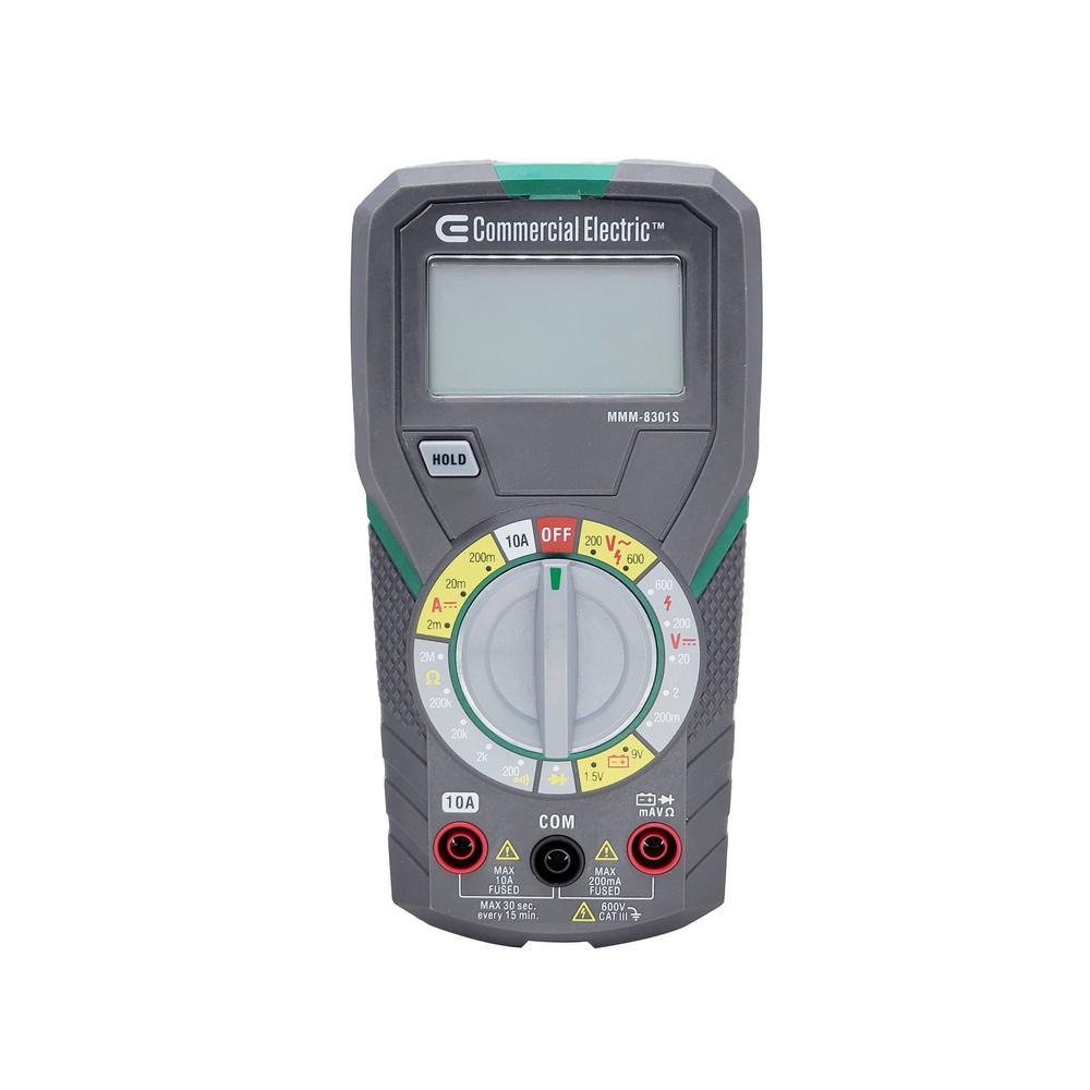 Manual Ranging Multimeter