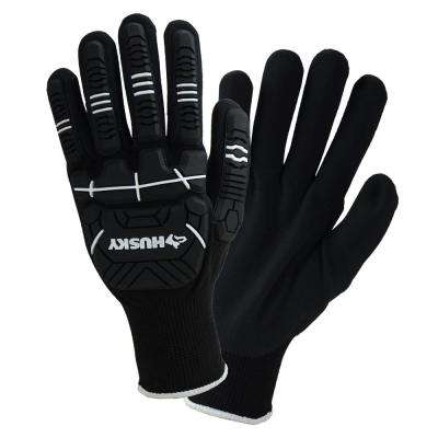 Large Dipped Impact Glove