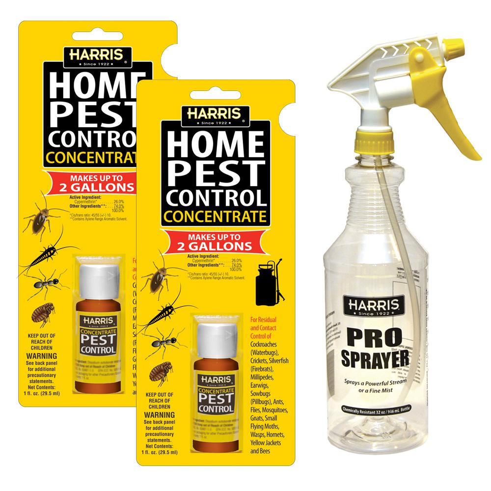 1 oz. Pest Control Concentrate with 32 oz. Professional Spray Bottle