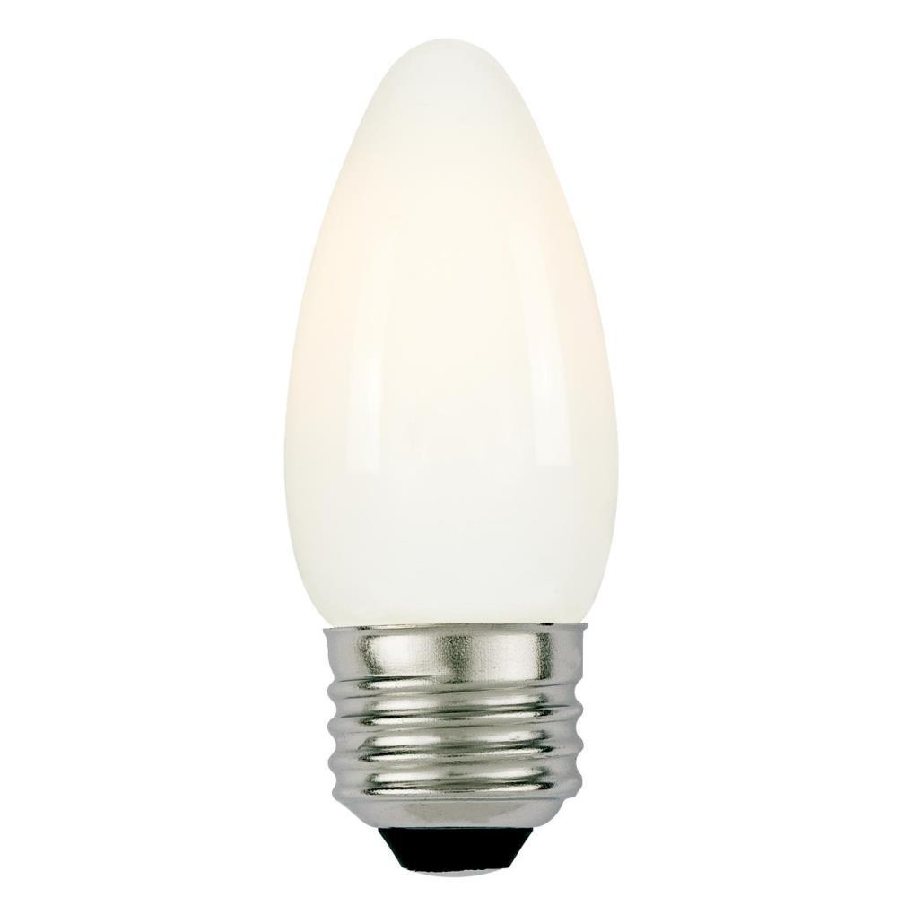60W Equivalent Soft White B11 Dimmable Filament LED Light Bulb