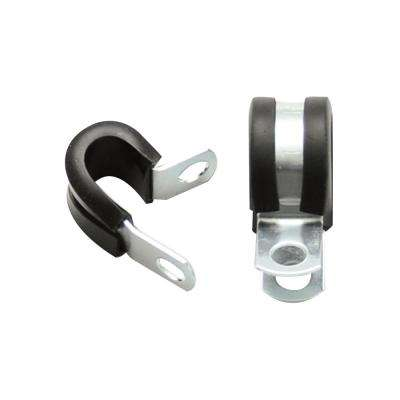 Cushion Clamps for 1/2in (-8AN) Hose - Pack of 10