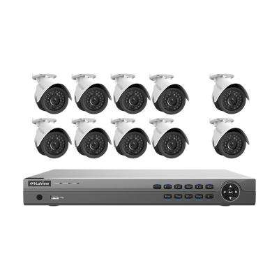 16-Channel 1080P IP Surveillance 3TB NVR Security System 8 + 2 Free 1080P Wired Indoor Outdoor Cameras Free Remote View