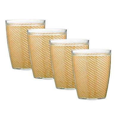 Fishnet 14 oz. Camel Insulated Drinkware (Set of 4)