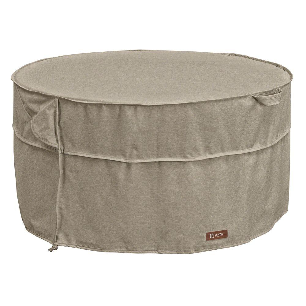 Classic Accessories Montlake Round Fire Table Cover