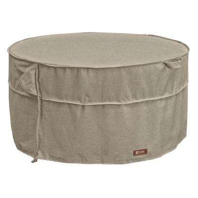 Montlake Round Fire Table Cover