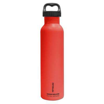 25 oz./750ml Vacuum-Insulated Bottle-Apple Red