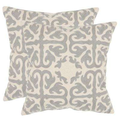 Moroccan Chainstitch Pillow (2-Pack)
