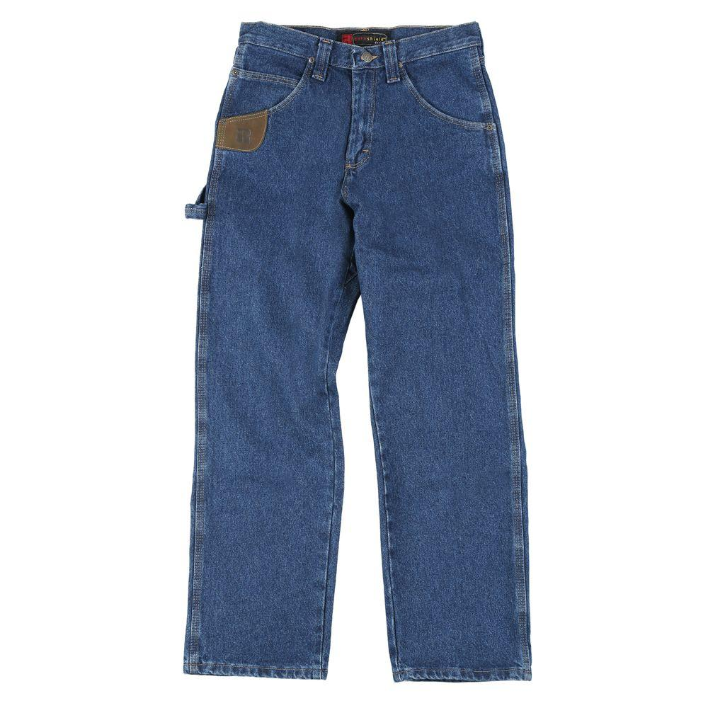 Wrangler Relaxed Fit 54 in. x 34 in. Men's Work Horse Jean-DISCONTINUED