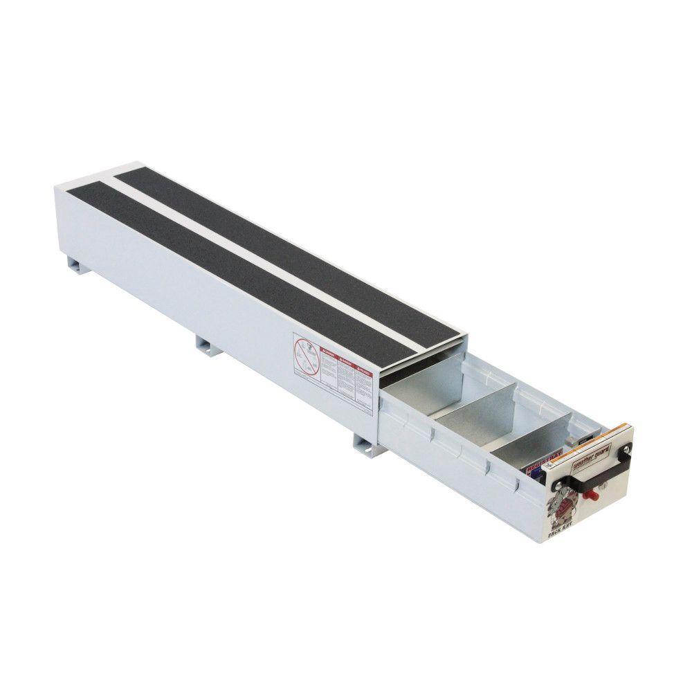 Steel Pack Rat Drawer Unit in Brite White