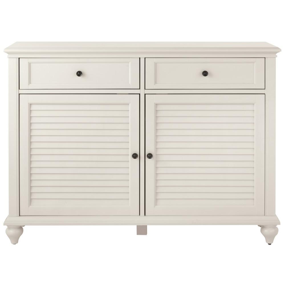 Hamilton Polar White Console Table