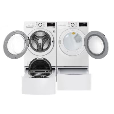 4.5 cu.ft. High Efficiency Ultra Large Smart Front Load Washer with Steam and Wi-Fi Enabled in White, ENERGY STAR