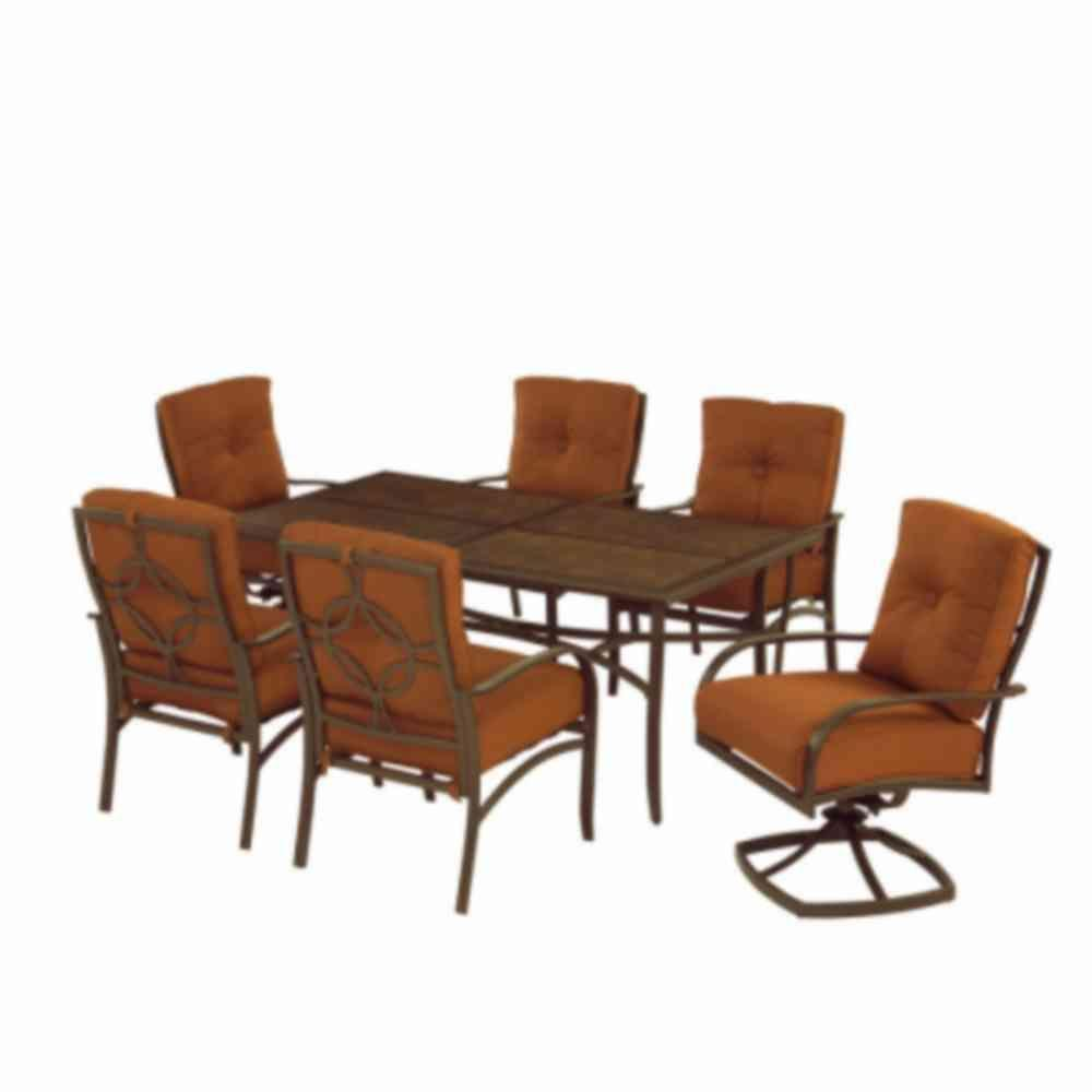 Martha Stewart Living Palm Canyon 7-Piece Patio Dining Set-DISCONTINUED