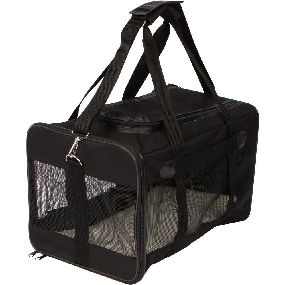 19 in. Soft Sided Pet Carrier with Removable Liner