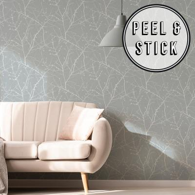 Transform Duck Egg Branches Peel and Stick Removable Wallpaper
