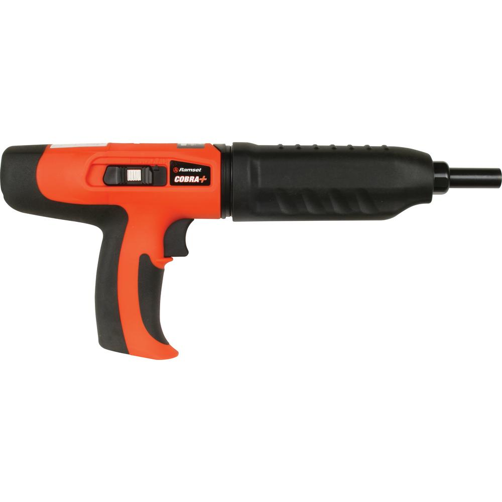 Ramset Cobra+ 0.027 Caliber Semi-Automatic Powder Actuated Tool with Silencer