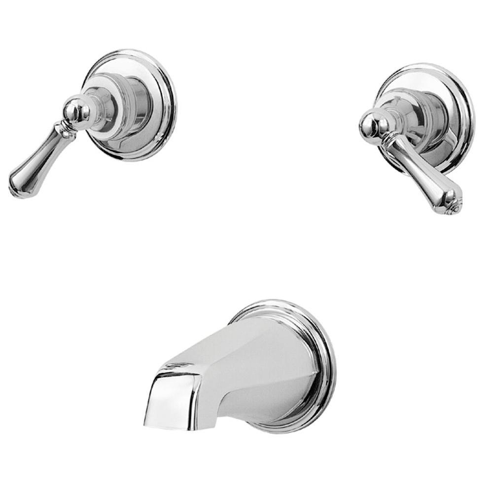 Pfister 05 Series 2-Handle Tub Filler Trim Kit in Polished Chrome (Valve Not Included)-DISCONTINUED