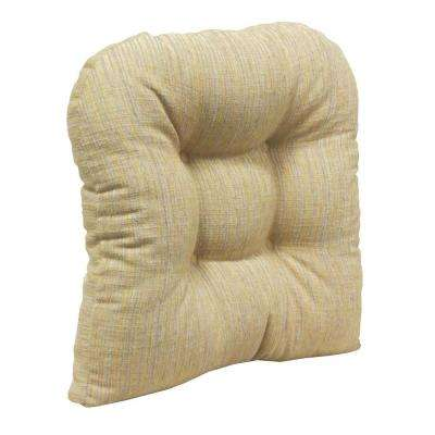 Gripper Non-Slip 17 in. x 17 in. Polar Chenille Sand Tufted Universal Chair Cushions