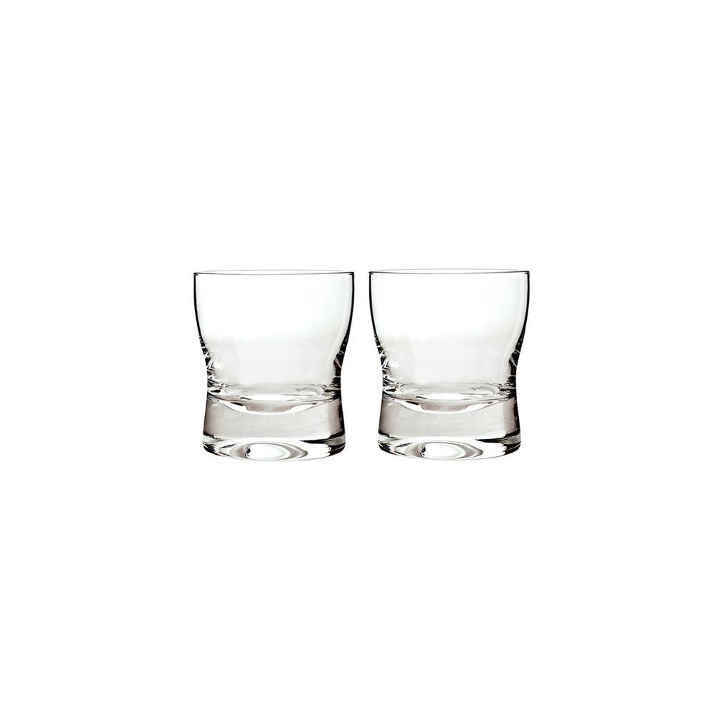 China 10.14 fl. oz. Clear Glass Tumblers (Set of 2)