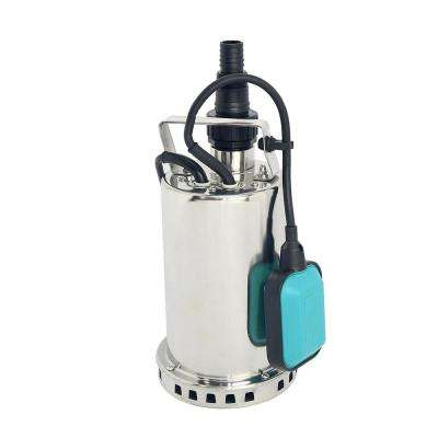 1 HP Stainless Steel Submersible Utility Sump Pump 900-Watt