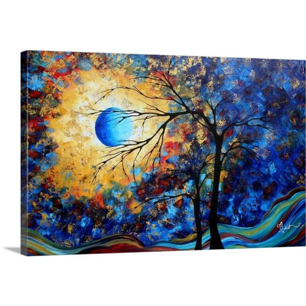 Eye Of The Universe By Megan Duncanson Canvas Wall Art