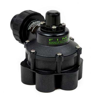 1 in. Mini 6 Outlet Indexing Valve with 5 and 6 Zone Cams