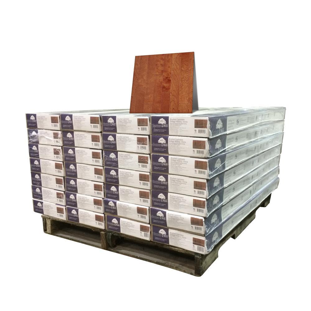 Birch American Tandooi 1/2 in. Thick x 5 in. Wide x Random Length Engineered Hardwood Flooring (868 sq. ft. / pallet)
