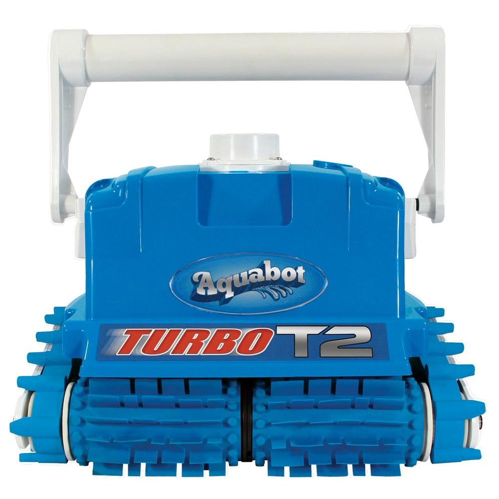 David Shaw Aquabot Turbo T2 Cleaner w/ Caddy for In Ground Pools