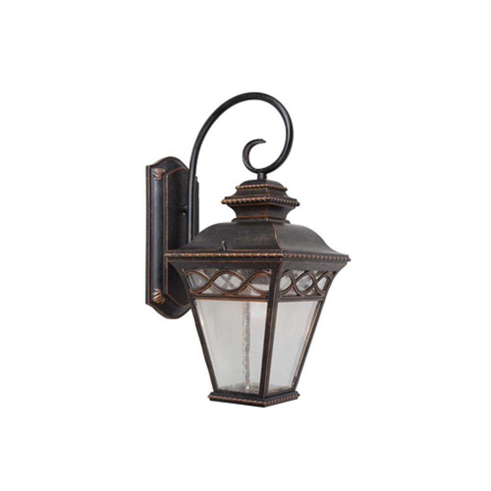 Cheri 1-Light Oil-Rubbed Bronze Outdoor Sconce