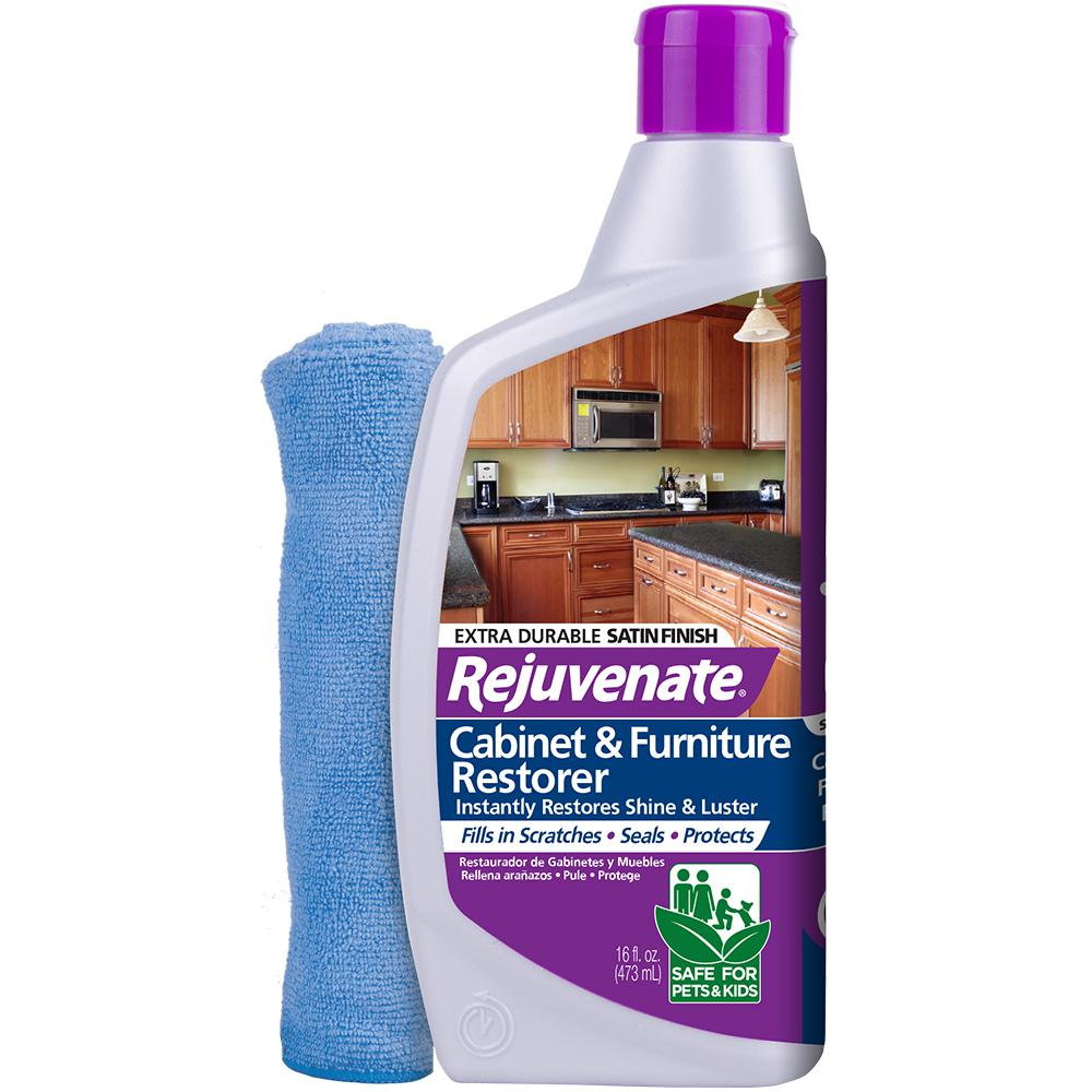 Rejuvenate 16 oz. Satin Finish Cabinet Restorer and Protectant