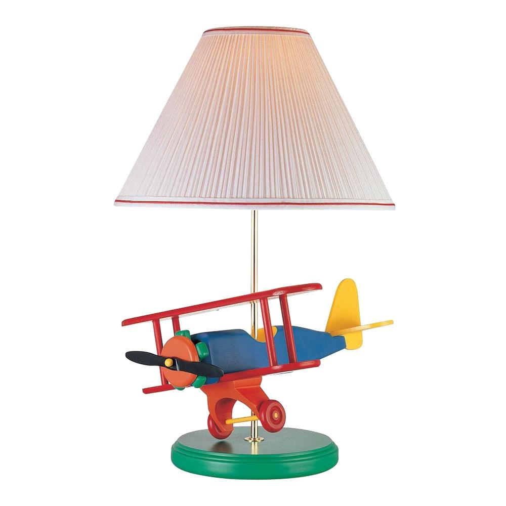 Illumine 22 in. Multi Color Airplane Novelty Lamp-DISCONTINUED