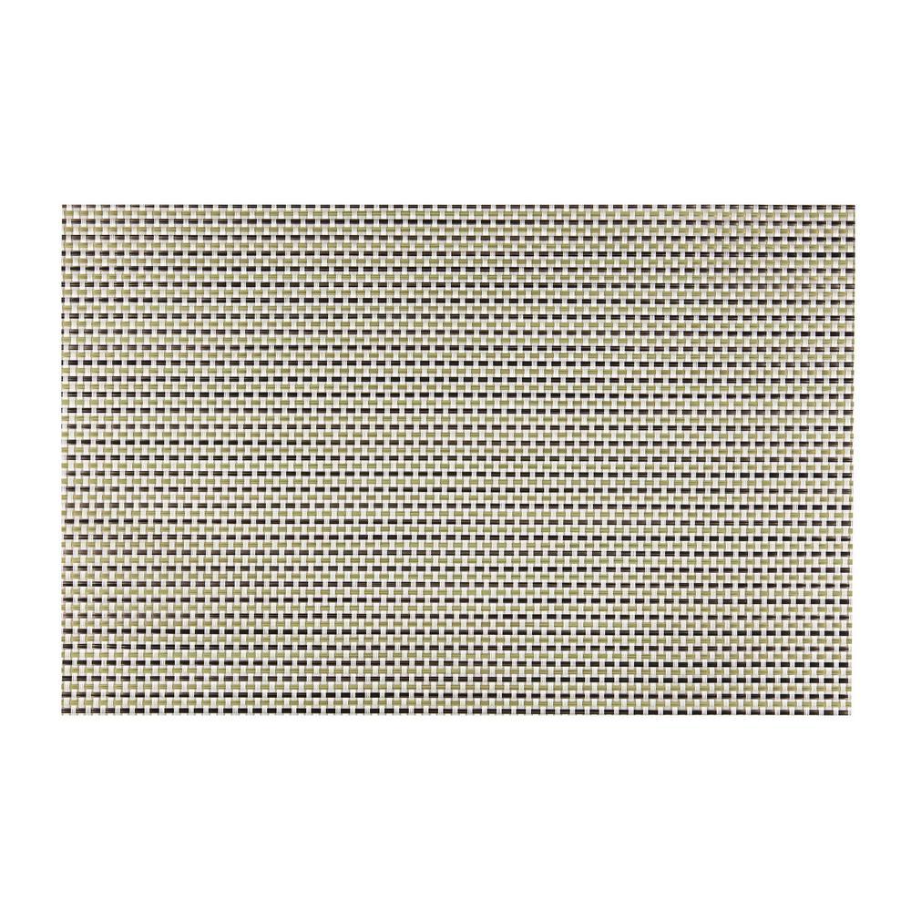 kraftware everytable transparent green weave placemat set of 12