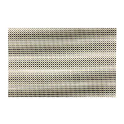 EveryTable Transparent Green Weave Placemat (Set of 12)