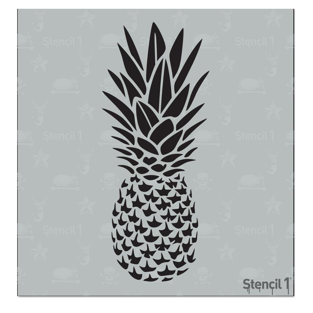 Stencil1 Pineapple Small Stencil S1 01 300 S The Home Depot