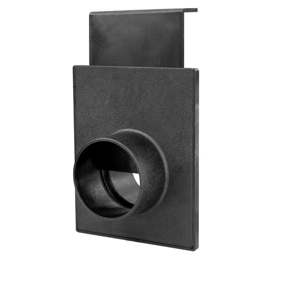 POWERTEC 2-1/2 in. Blast Gate for Vacuum/Dust Collector