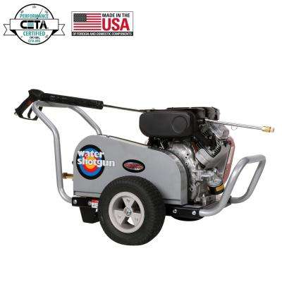 Water Shotgun 4000 PSI at 5.0 GPM VANGUARD V-Twin with COMET Triplex Plunger Pump Belt Drive Gas Pressure Washer