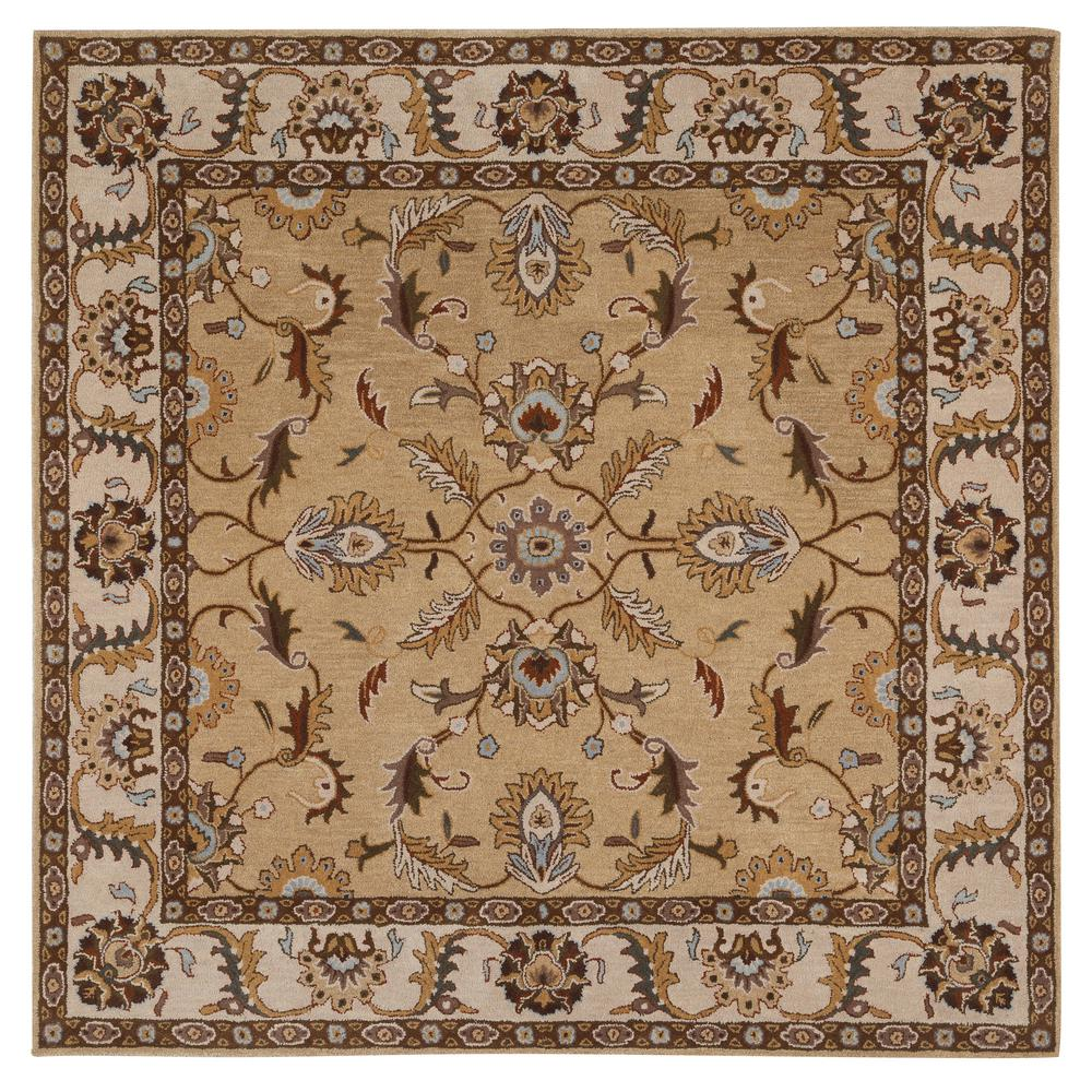 Home Decorators Collection Aristocrat Beige 8 Ft X Square Area Rug 0167580810 The Depot